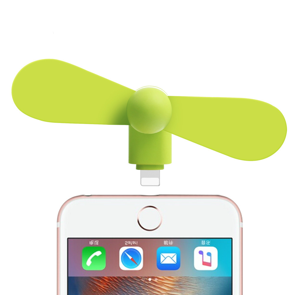 Portable USB Electric Fan Mini For Android Samsung Galaxy Google Micro USB Fan