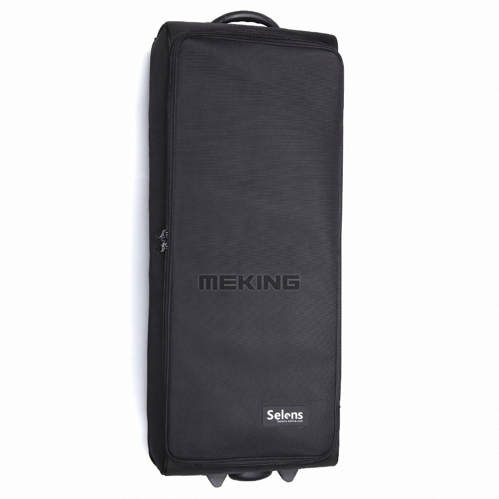 Selens Pro camera bags Studio Flash Strobe Lighting Set Trolley Bag SE-XLpro selens pro 100x100mm