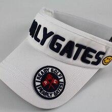 Новая регулируемая GP шляпа для гольфа без верхней крышки s уличная спортивная шляпа для гольфа со смайликом хлопковая кепка перламутровые ворота цветная