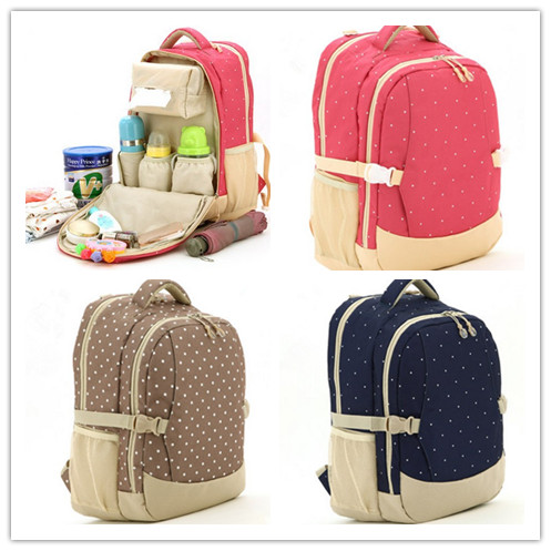 ФОТО Promition! Multifunction Baby Diaper Bags/Nappy Changing Bag With Big Capacity Waterproof Mummy Bag