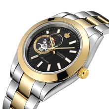 MG. ORKINA Luxury Male Dress Watches Japan Automatic Movement Montres Men's Mechanical Wristwatch Waterproof Relogio Masculino