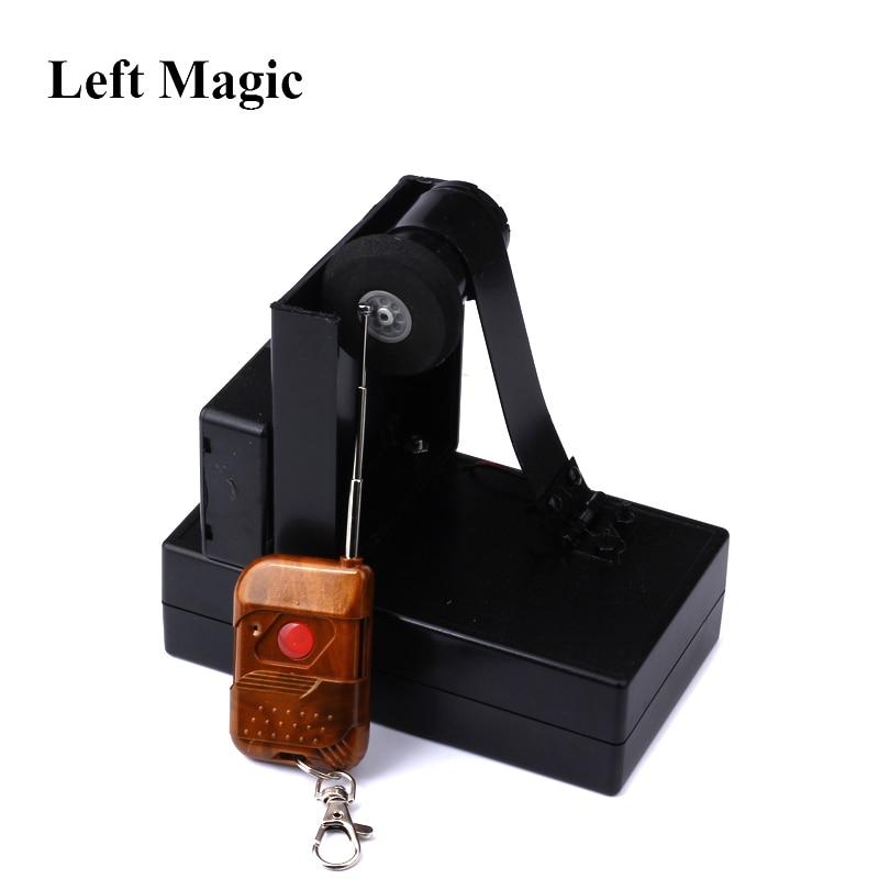 Remote Control Card Fountain Magic Tricks Spray Card Device Magic Props Stage Accessories Ountain Magic Metalism Gimmick