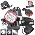 2-IN-1 12000Lumen T6 LED Bike Light Bicycle LED Lamp Headlamp HeadLight +9600mah Battery Pack + Charger