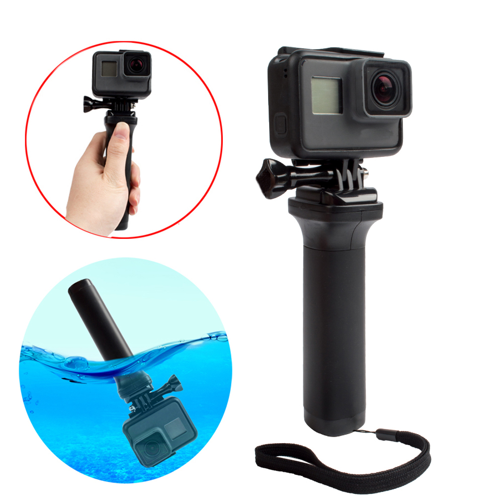 Easttowest Non-slip Floating Hand Grip Black Handle Selfie Accessories for Go pro Hero 6 5 4 3 3+ Session Xiaomi Yi 4k Sj4000