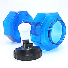 2.5L Dumbbells Shaped Gym, Sports and Fitness Water Bottle