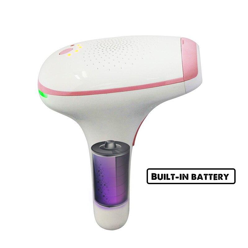 Újratölthető lézeres szőrtelenítés Állandó IPL haj eltávolítás 500 ... 662998db3c