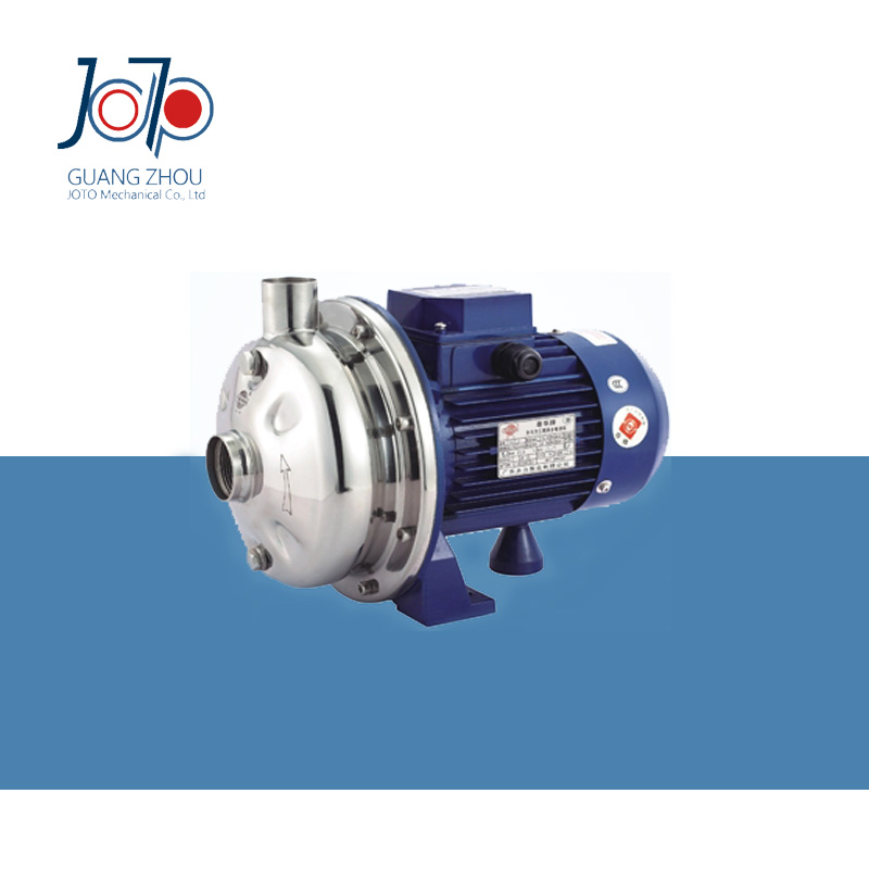 WB70/037D 220V 50Hz Single Phase Stainless Steel Centrifugal Water Pump Sanitary Pump Beverage Pump Circulating Dishwasher Pump 1 2hp 220v 50hz single phase small stainless steel centrifugal water pump sanitary pump beverage pump dishwasher pump