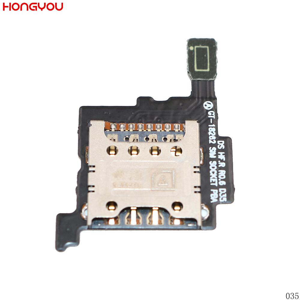 SIM Card Holder Tray Slot Reader Socket Flex Cable For Samsung Galaxy I8262 GT I8262-in Mobile