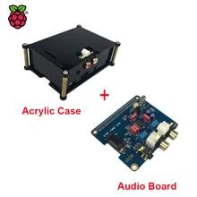 Promo offer Raspberry Pi 3 HIFI Analog DAC Audio Board Module I2S Interface + Black Acrylic Case compatible for Raspberry Pi 2