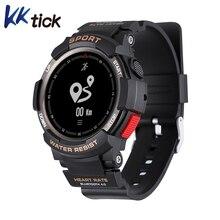 Дешевые Kktick F6 Смарт-часы Водонепроницаемый Bluetooth 4.0 сна Мониторы удаленного Камера часы Для мужчин Спорт на открытом воздухе Смарт часы для IOS Android