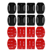 4pcs Flat Curved Base Mount 3M VHB Stickers For GoPro Hero 5 3 4 Session Xiaomi Yi 4K Kit SJ4000 Mount for Gopro Accessories Set