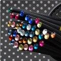 DIY Bonito de Kawaii de Madeira Preta De Madeira Lápis HB Lápis para Desenho Pintura Padrão de Diamante Acrílico Suprimentos Frete grátis 559