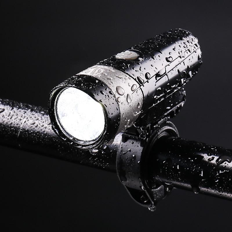 Cycling Light 500 Lumen USB Rechargeable MTB Bike Light Frontlight Taillight Set LED Bicycle Light Waterproof Bike Accessories