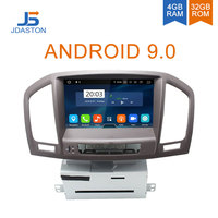 JDASTON 2 DIN Android 9.0 Car DVD Player For Opel Insignia Vauxhall Buick Rega Octa Cores 4G+32G Multimedia GPS Navigation Radio