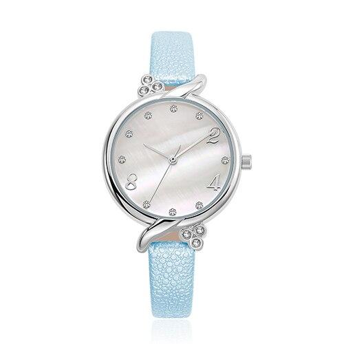 Bracelet montres femmes belle mariage Quartz montres 6 couleurs strass montres femmes délicates