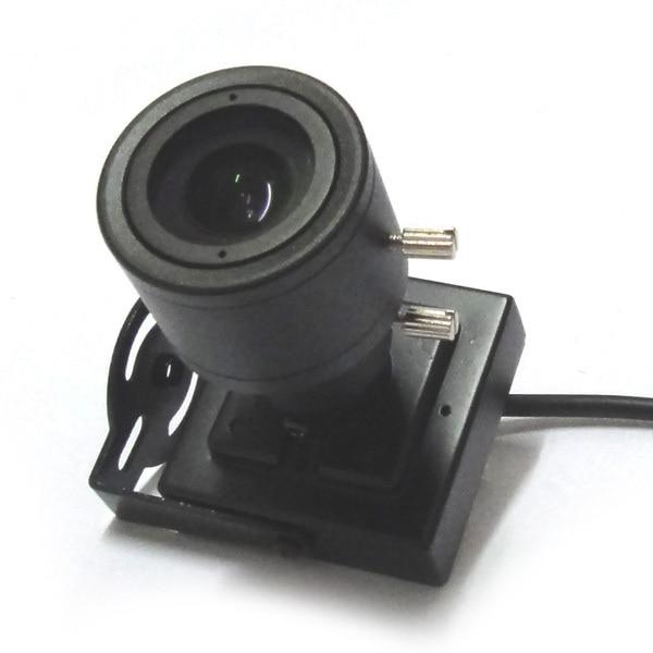1/3 700TVL CMOS mini CCTV Camera 2.8-12mm manual varifocal zoom lens security Cam