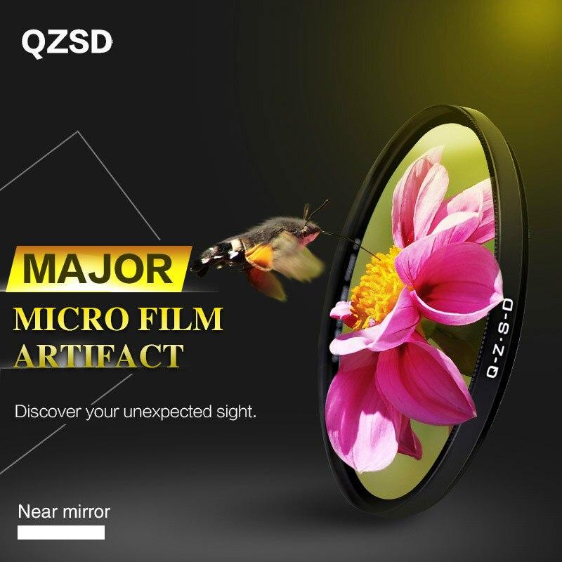 QZSD Close-up lens SLR camera macro lens 52/55/58/62/67/72/77/82mm filterQZSD Close-up lens SLR camera macro lens 52/55/58/62/67/72/77/82mm filter