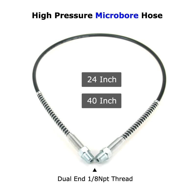 New  Paintball Air Gun Airsoft PCP Charging Hose High Pressure Microbore Hose 1/8NPT Thread 4500psi Pneumatic Equipm