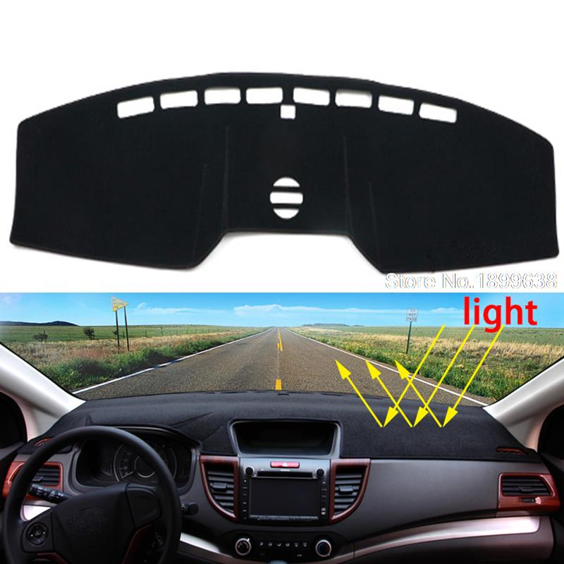Car dashboard Avoid light pad Instrument platform desk cover Mats Carpets Auto accessories for Ford mustang 2015 2016 dashboard cover
