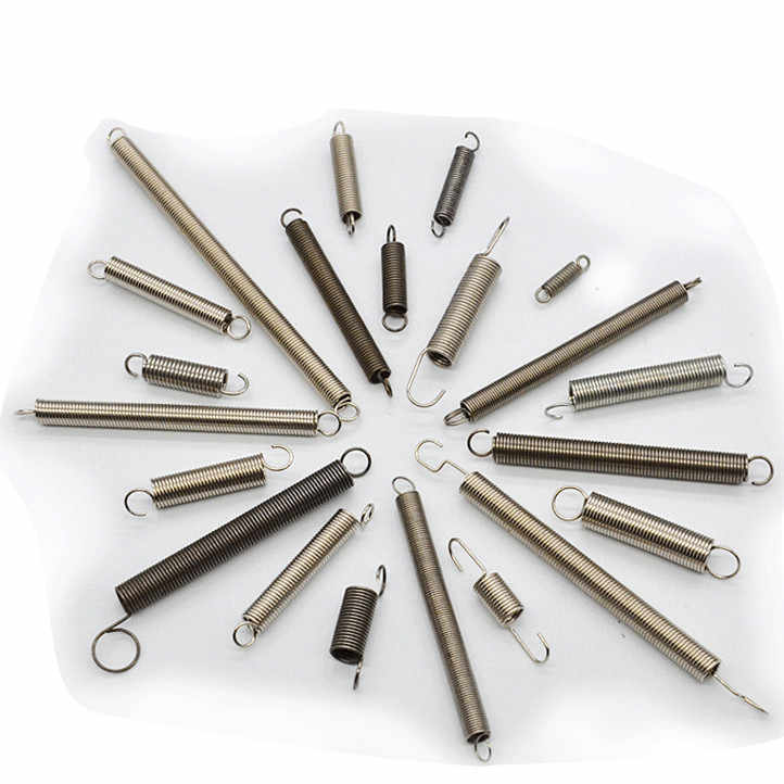 Hook hook tensile spring spring stainless steel spring wire oven small small diameter 0.3 2,3,4 long 10-60 custom