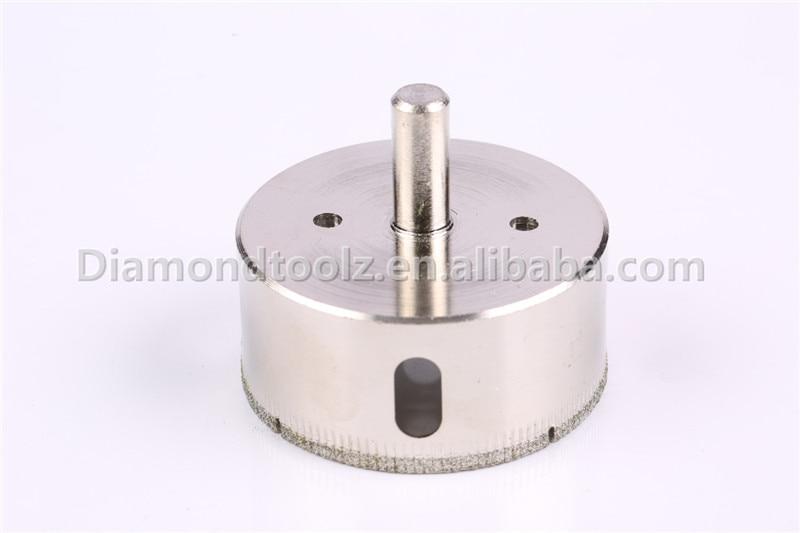 Punta da 10mm 6mm-52mm in vetro rivestito diamantato per fori di - Punta da trapano - Fotografia 5