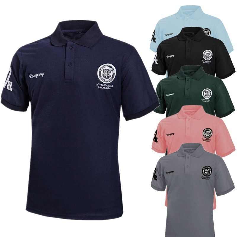 c43ced608 Zogaa Men Polo Shirt Short Sleeve Multicolor Summer Printed Man Polo Shirt  Slim Fit Casual Cotton