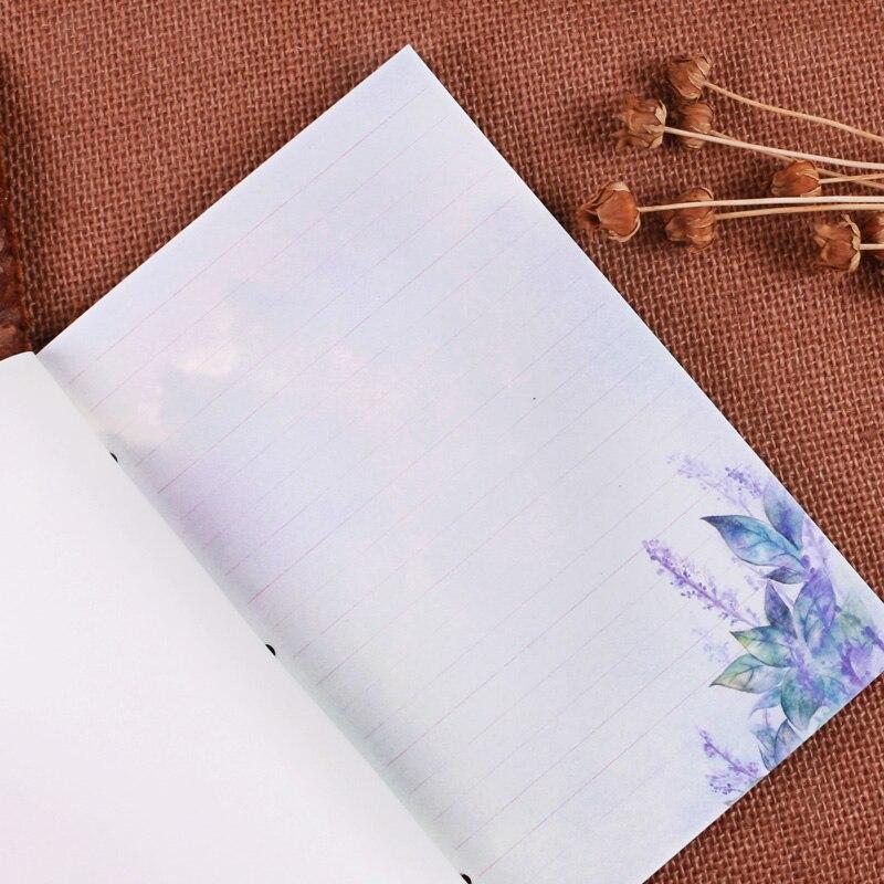 2018 Hot Sketchbook Memos Trendy Vintage Colored Pages Notebook ...