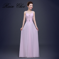 Strap Pink A Line Prom Dresses Long 2016 Sexy Homecoming Graduation Dress Cheap