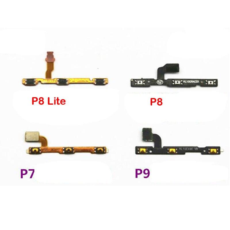 New Power Volume Button Flex Cable For Huawei P7 P8 Lite P9 Plus P10 Lite P20 Replacement Parts
