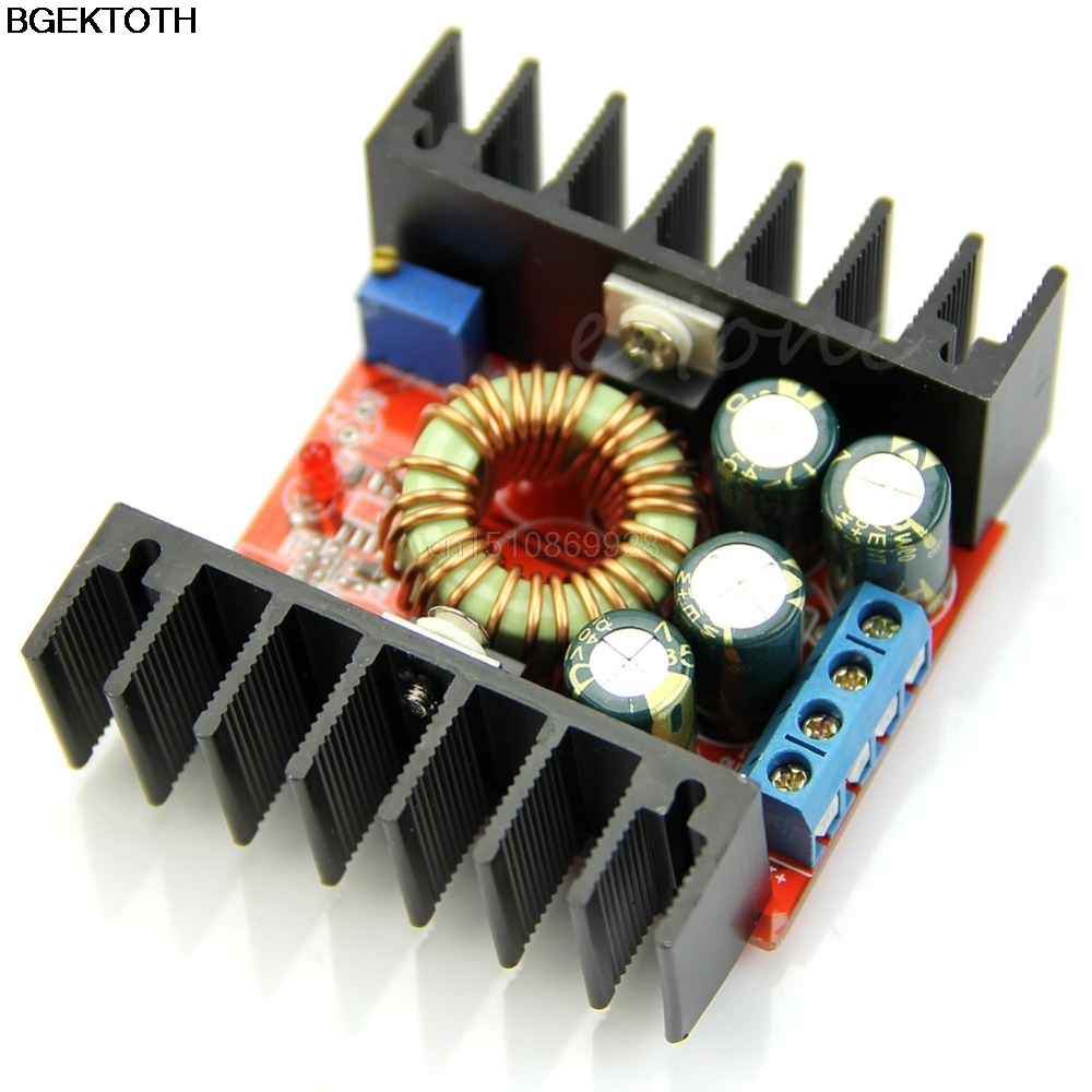 DC-DC Buck Converter Step-down 7-32V 12A 100W High Power Board Low Ripple Module