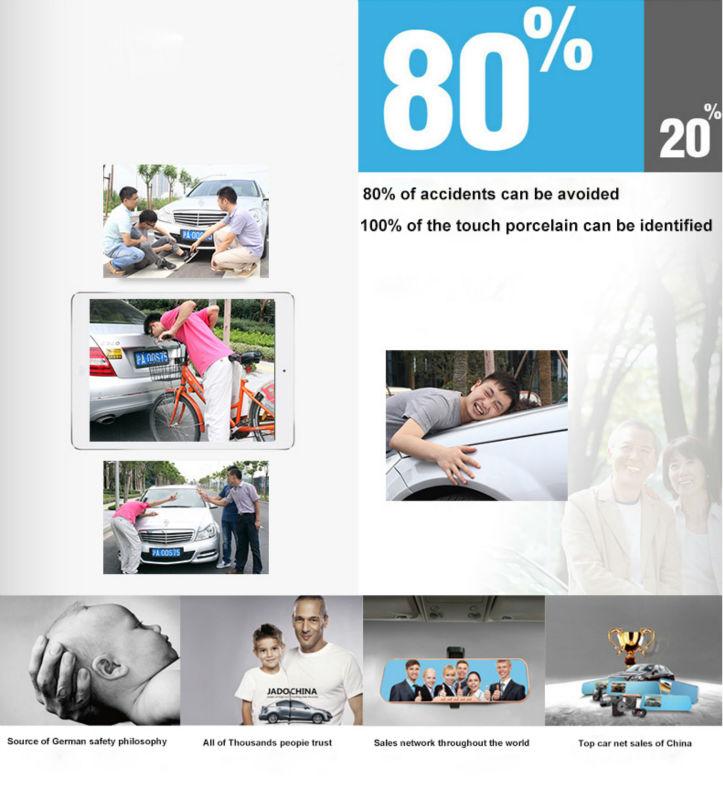 Original Podofo  Mini Car DVR Camera Dashcam Full HD 1080P Video Registrator Recorder G-sensor Night Vision Dash Cam Blackbox5