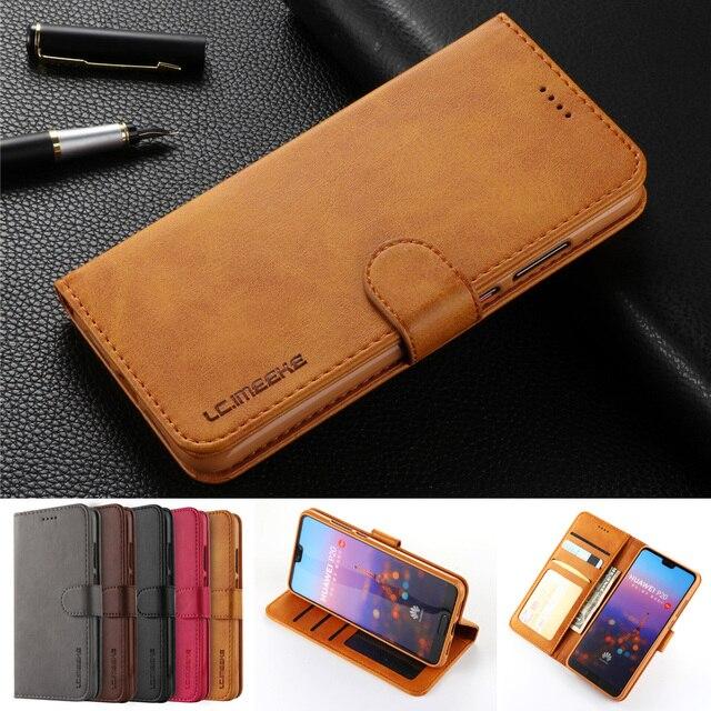 Wallet Flip Case For huawei p20 lite case mate 20 pro huawei mate 20 lite case For P smart huawei p20 pro cases mate 10 P10 Lite