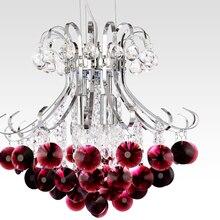 Современные хрустальные люстры de cristal светодиодный haning лампы свадебные украшения дома светильники приспособление
