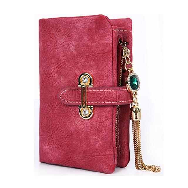 Damski portfel Shiny Elegant różne kolory