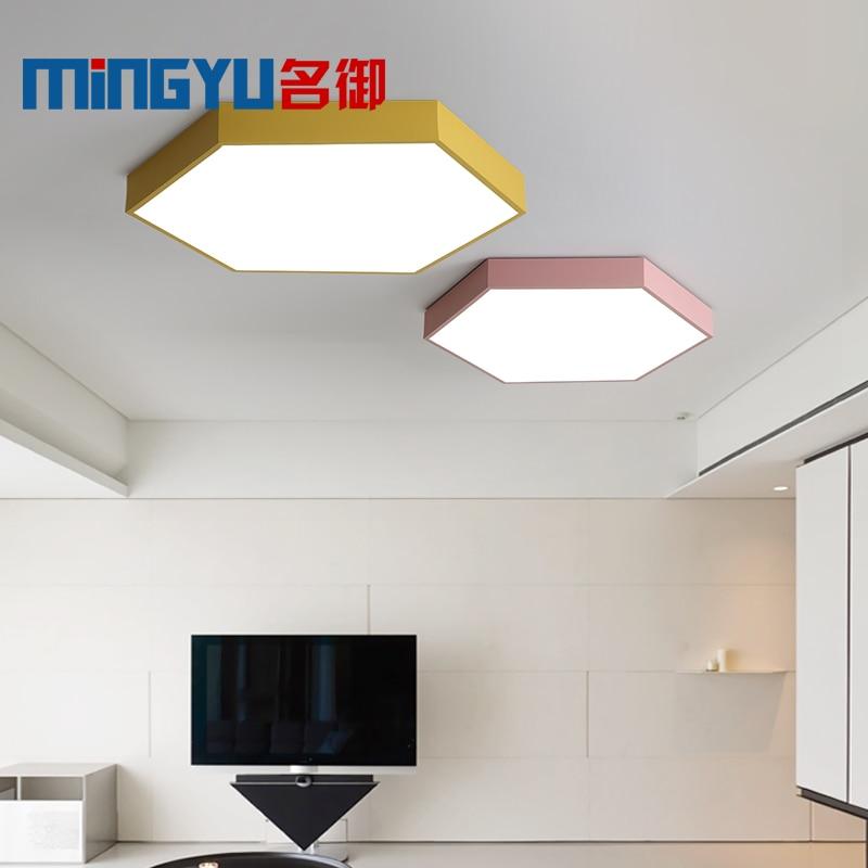 Ceiling Lights & Fans Led Ceiling Light Modern Lamp 12w 220v Living Room Lighting Fixture Bedroom Kitchen Surface Mount Flush Panel Switch Control Ceiling Lights