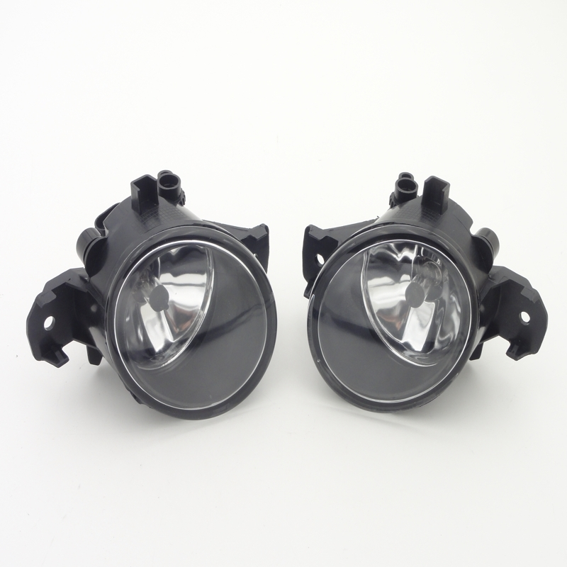 1Pair Car-styling Clear Lens Front Fog Lights Fog Lamp With Bulb for Nissan Altima Sedan 2013-2015 1pair clear lens fog lights bumper driving lamps with bulbs for nissan altima sedan 2007 2012