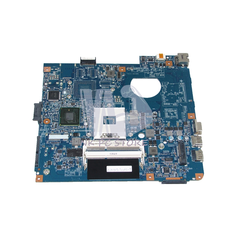 NOKOTION MBTVQ01001 MB.TVQ01.001 Main board For Acer aspire 4741 4741G Laptop Motherboard HM55 DDR3 GMA HD 48.4GY02.031 laptop motherboard fit for acer aspire 3820 3820t notebook pc mainboard hm55 48 4hl01 031 48 4hl01 03m