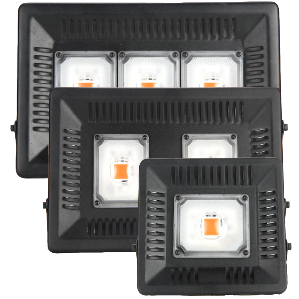 กันน้ำ IP67 ซัง Led เติบโตไฟเต็มสเปกตรัม 100 วัตต์ 200 วัตต์ 300 วัตต์สำหรับ Veg ออกดอกในร่มไฮโดรโปนิเรือนกระจกพืชโคมไฟ LED