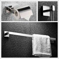 Bathroom Set High Quality 304 Satinless Steel Bathroom Bath Hardware Set Toilet Roll Paper Holder Robe