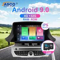 Android 9.0 lecteur DVD stéréo de voiture GPS Glonass Navigation pour Renault Megane 3 Fluence 4GB 32G vidéo multimédia Radio