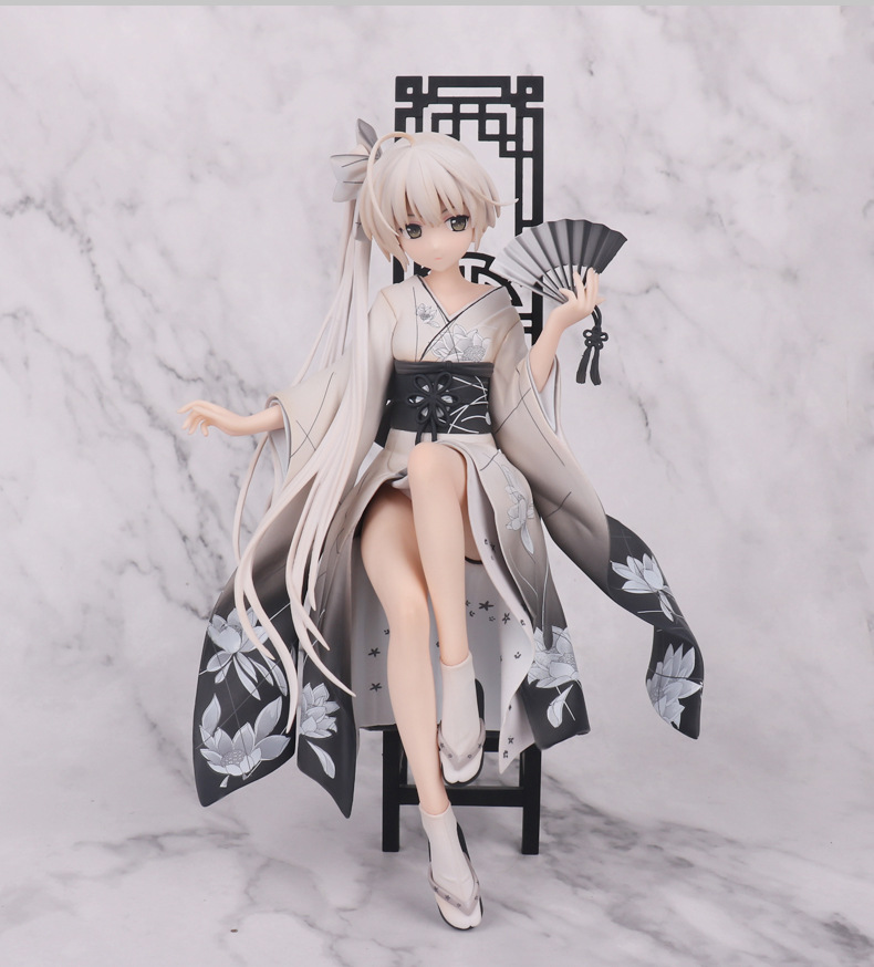 20CM Anime Figure ALPHAMAX SKYTUBE Yosuga No Sora Kasugano Sora Lovely Girl Action Figure Collectible Model Toy for Christmas anime sexy figure yosuga no sora kasugano sora sexy china dress ver pvc action figures collectible model toys doll 22cm acaf061