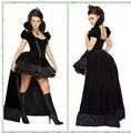 Бесплатная доставка новый костюм вампира косплей сексуальная костюм дикий карнавал женщины хеллоуин костюм для взрослых ведьма необычные платья