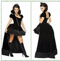 Free shipping New Vampire costume Cosplay Sexy Costume wild carnival Women Girl Halloween Costume Adult Witch Fancy Dress