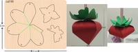 Strawberry box Wood Mould is compatible with most leading machines Mold thickness: 15.8mm
