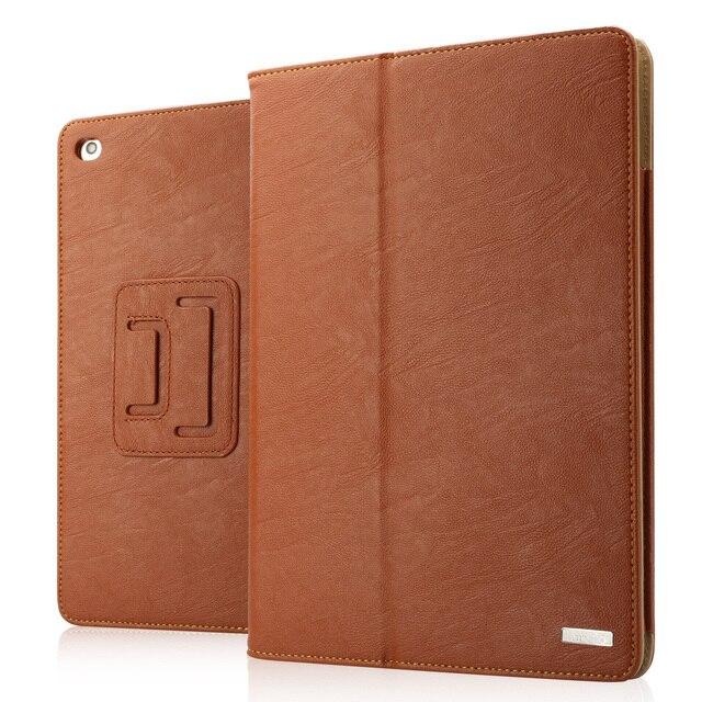 Labato caso pu de couro para ipad air 1 & air 2 estande inteligente caso para o ipad 5 tampa magnética para ipad 6 com wake up/sleep função