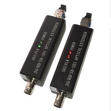 מיני HD SDI אופטי מסוף HD וידאו סיבי ממיר 1080I אופציונלי 3G SDI משדר LC נמל