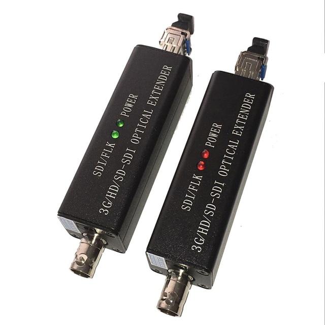 Mini HD SDI Optical Terminal HD Video Fiber Converter 1080I Optional 3G SDI Transceiver LC Port