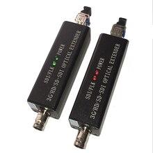 Mini Terminal óptico HD SDI convertidor de fibra de vídeo HD 1080I opcional 3G SDI transceptor LC puerto