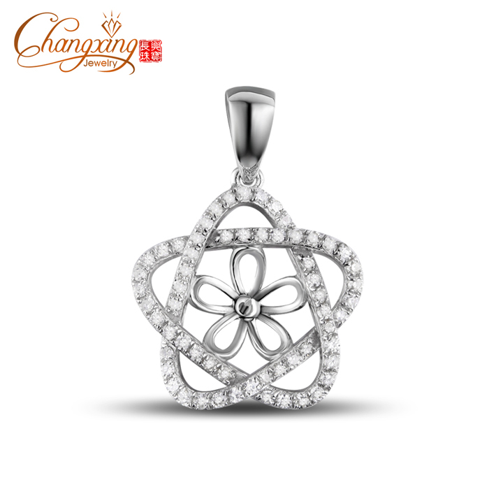 14k gold full cut diamond hold a 85mm round pearl pendant settings 14k gold full cut diamond hold a 85mm round pearl pendant settings resizable in pendants from jewelry accessories on aliexpress alibaba group aloadofball Image collections