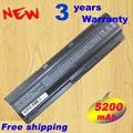 7800 mAh larga vida de la batería portátil portátil para HP MU06 MU09 repuestos 593554-001 593553-001 C 9 celular